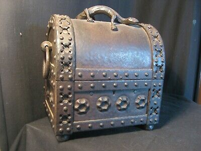 Wrought Iron Arts And Crafts Casket