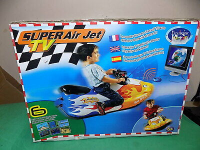 Super Air Jet TV - Interactive Jetski - Lexibook Junior Video Rare Games Console