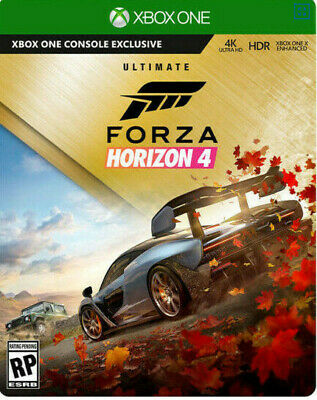Forza Horizon 4 Ultimate Edition + GTA 5 XBOX ONE