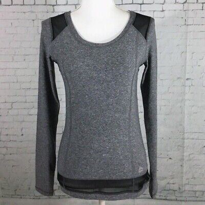 Nwt RBX Performace Women's Multi-Color Dry Wick Long Sleeve Athletic Top Size S