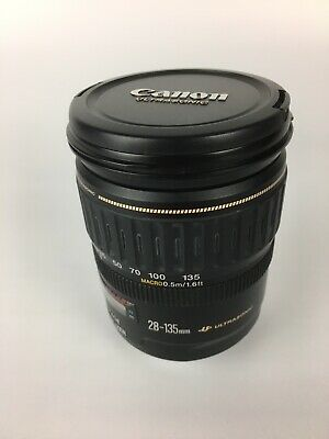 CANON EF 28-135mm F/3.5-5.6 IS USM LENS FOR CANON EOS SLRs DSLRs