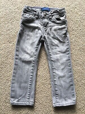 Toddlers Levi's Denim Jeans Slim Straight Fit 2T gray Adjustable GIRLS 1-2 years