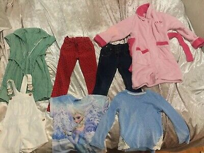 Girls Clothes Bundle Age 5-6 Years. Next Jeans & Trousers!