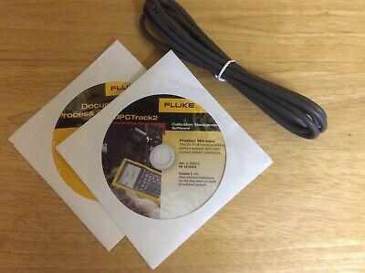 Fluke 750SW DPC/Track 2 Calibration Management Software and Cable