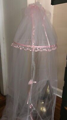 Mosquito Net for Standard Crib and Portable Crib In Pink