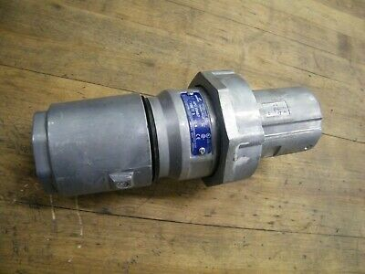 CROUSE HINDS 100 AMP 3W 4P  PLUG APJ10487 NEW IN BOX MATES WITH AR1042