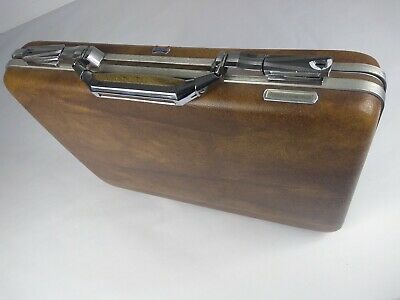 1970's AMERICAN TOURISTER vintage suitcase (hard shell) with original keys