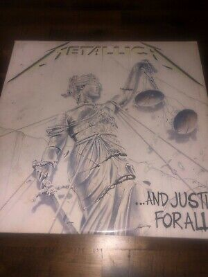 METALLICA And Justice For All 2 LP 60812 Elektra Records 1988 Very nice
