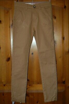 Boys NEXT Trousers/Jeans Tan Age 11