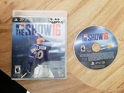 MLB: The Show 16 (Sony PlayStation 3, 2016). Complete. Free Shipping. Baseball