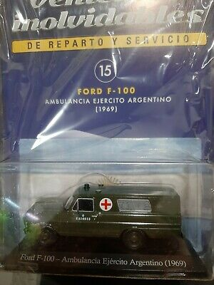 Ford F100 Ambulancia Ejército Escala 1/43