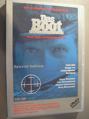 Das Boot Special Edition The Director`s Cut 1981/1997 DVD Euro Video Topzustand