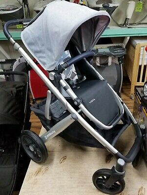 UPPAbaby 2019 VISTA Stroller - William (Chambray Oxford/Silver) NEW! [Open Box]
