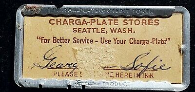 Charga-Plate charge plate with case♡Free Shipping♡cc890♡ Credit Token Seattle WA