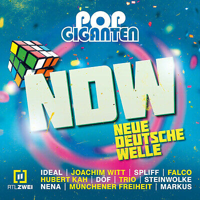 VARIOUS - Pop Giganten NDW [CD]
