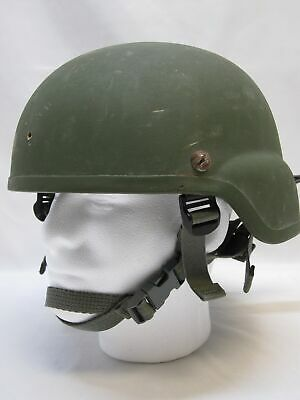 Used Msa Mich Made W/ Kevlar Ach Tactical Combat Helmet X-Large 8470-01-513-6411