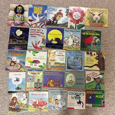 Bedtime Picture Books Children's Reading Lot of 25 Story Time Daycare Library