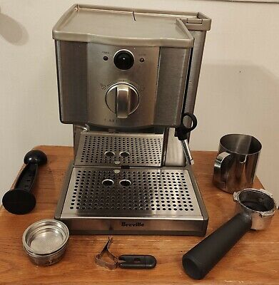 Breville ESP8XL Cafe Roma Stainless Espresso Maker Includes Accessories