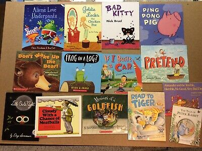 Bedtime Picture Books Children's Reading Lot of 14 Story Time