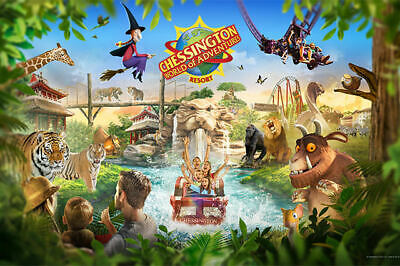 2 X Chessington Tickets, ALL 9 Sun Saver Codes Pick You Own Dates
