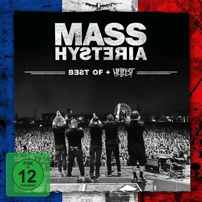 MASS HYSTERIA - Best Of / Live At Hellfest CD + DVD NEU & OVP (Release 2020)