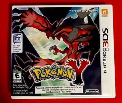 Pokemon Y (3DS, 2013) *Complete*
