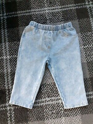 Lovely Girls Next Denim Look Cycling/Cropped Shorts 7 Years Excellent Condition