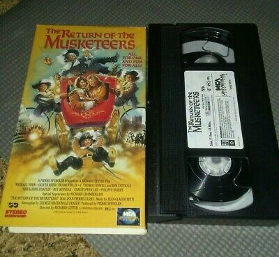 The Return of the Musketeers (VHS, 1993)