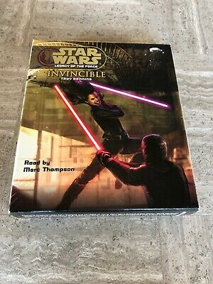star wars legacy of the force Invincible Audiobook CD