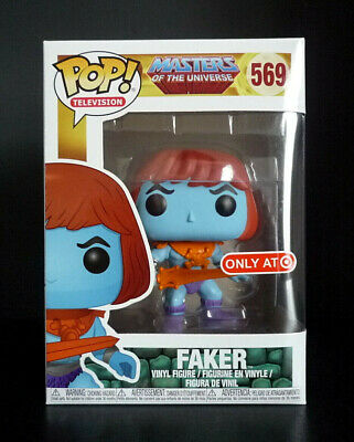 Funko Pop! Masters of the Universe Faker Target Exclusive w/ Protector Pristine