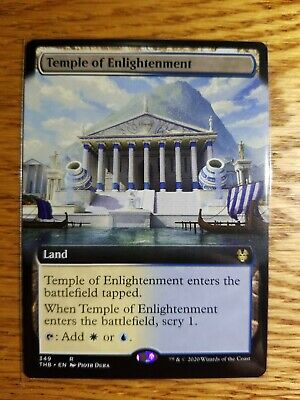 TEMPLE OF ENLIGHTENMENT (EXTENDED ART) Theros Beyond Death Variants Magic MTG