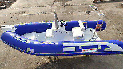 ARRIBA Inflatable RIB boat. 4.20 metre Brand NEW just arrived at ARRIBA BOATS