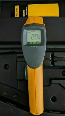 Fluke 63 IR Thermometer + INCLUDES HARD CASE