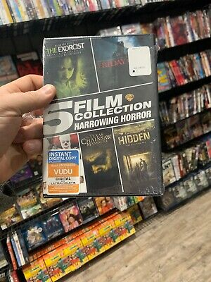 5 Film Harrowing Horror (New DVD) IT, Exorcist, Hidden, Friday 13,Texas Chainsaw