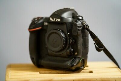 Nikon D D4S 16.2MP Digital SLR Camera - Black (Body Only)