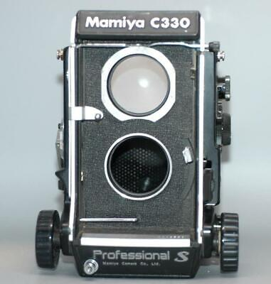 Mamiya C330 Professional S camera body with screen C330S - tested & works- Ex+!