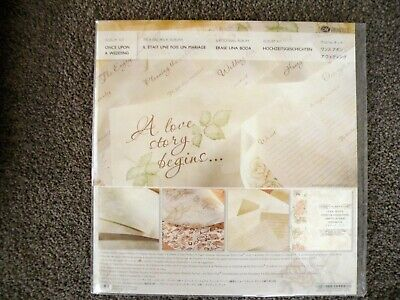 Creative Memories Once Upon A Wedding Scrapbook  Pack - Brand New