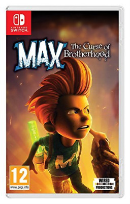 Switch-Max: The Curse of Brotherhood /Switch GAME NEW