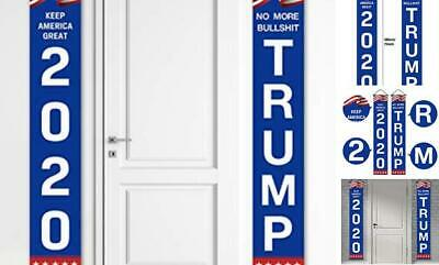 Yangmics Direct Trump 2020 Flag -Support Donald Trump for President - Blue-Red