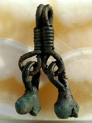 Ancient viking wedding amulet pendant drives away evil.