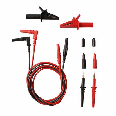Test Lead Set for Clamp Meters by Kewtech Megger Fluke Leads,Clips,Probes LDM020