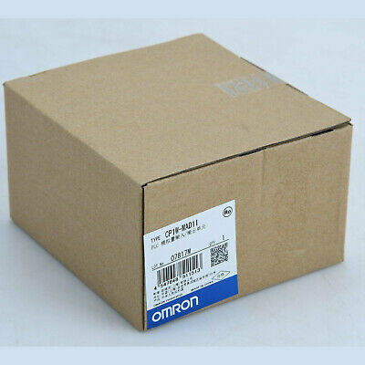 1PC Brand NEW IN BOX Omron PLC Analog I/O Module CP1W-MAD11 CP1WMAD11