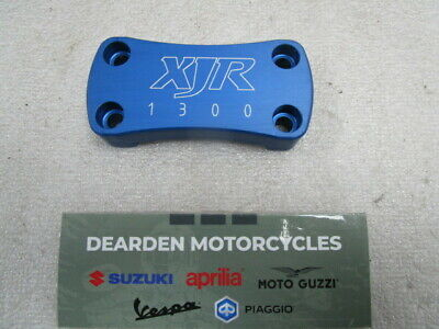 Yamaha Xjr 1300 Cnc Handle Bar Top Clamp Blue