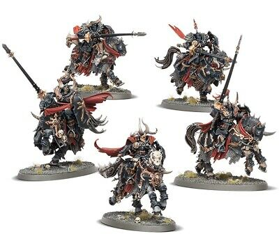 x5 CHAOS KNIGHTS AoS Slaves to Darkness Warhammer Warriors of Chaos Khorne
