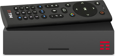 TIM BOX TIM VISION DVB-T2 4K Android TV  32 GB + GAME PAD TIMPAD
