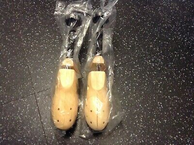 Pair Of Wooden Adjustable Shoe Trees Brand New