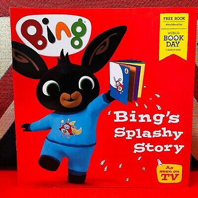 World Book Day 2020: Bing's Splashy Story (Paperback) *NEW* Free UK Delivery