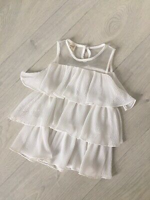 Childrens photography prop White dress toddler