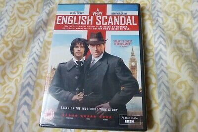 A Very English Scandal - DVD - Hugh Grant - New & Sealed.