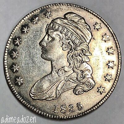 1835 50C Capped Bust Half Dollar SC15696NV